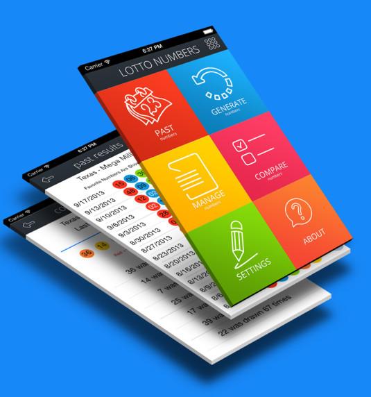 iOS App LottoNumbers 2.0